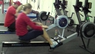 Again Faster Wod - m row - Becca Voigt and Dave Lipson