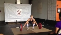 Blaze Barbell Throwdown kg snatch
