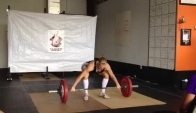 Blaze Barbell Throwdown