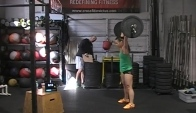 Camille LeBlanc-Bazinet CrossFit Open Workout