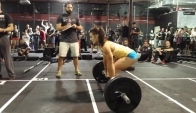 Camille LeBlanc and Jenn Jones doing Heavy Grace