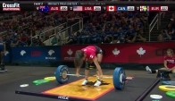 Camille Leblanc Bazinet Clean and Jerk