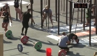 Clean-Handstand Push-up - CrossFit Games