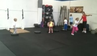 Costa Mesa - deadlift run box jump burpees Wod