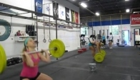 CrossFit - Fran Wod Demo with Bergeron and Ockerby