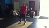 CrossFit - Hang Squat Clean and Jerk Pr