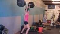 CrossFit - Lindsey Smith and Vic Zachary on Wod