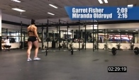 CrossFit - Miranda Oldroyd's and Garret Fisher's Fran