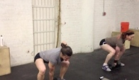 CrossFit Ann Arbor Db Snatch Practice from Cleveland Trip