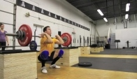 CrossFit Ann Arbor Julie Foucher and Dani Ucruyo