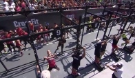 CrossFit Games - Bar Muscle-up Chipper Team Heat