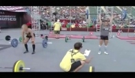 CrossFit Games - Women's Rope Clean from