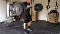CrossFit Games Champ Rich Froning squat cleans