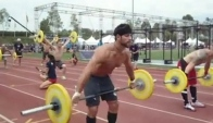 CrossFit Games Track Triplet - Heat Rich Froning