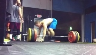 CrossFit Wod - Burpees and Deadlifts