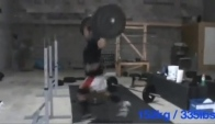 Cross fit - rich froning - rep max jerk