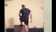Crossfit workout minute AMRAP