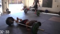 Dan Bailey and josh bridges bro session Crossfit workout