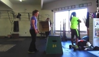 Exercise after hCG Diet - Crossfit Box Jumps