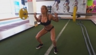 Female Fitness Motivation - Train hard or go home