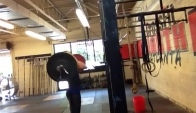 Front Squat wheels - Talayna Fortunato