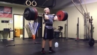 Graham Holmberg clean and jerk