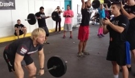 Graham Holmberg doing Grace at Barbells for Boobs