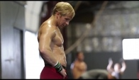 Graham Holmberg trains for the CrossFit Games