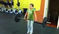 Hammer Down CrossFit Kids Hang Cleans