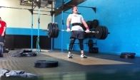 Hang Squat Clean and Jerk