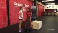 How to Do a Box Jump CrossFit Workouts Fitness How To