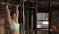 How to master Toes to Bar Workout by Camille Leblanc