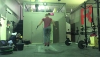 Jonne Koski does CrossFit Games Open vid