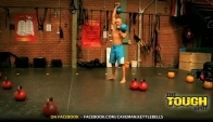 Kettlebell Workout 'Xerxes' by CrossFit Level Trainer
