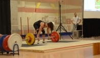 Kg clean and jerk camille leblanc-bazinet