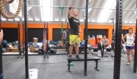Kip pull ups with Scott Panchik