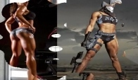 Motivational Female Fitness Models - Female fitnes motivation