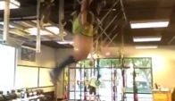 Muscle-Up forward roll fun - Talayna Fortunato