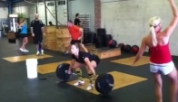 Position pull hang snatch Talayna