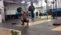 Position snatch pull high hang squat snatch