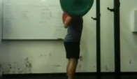 Pr High-bar Backsquat - Noah Ohlsen