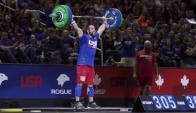Rich Froning Snatches lb at the CrossFit Invitational