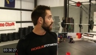 Rich Froning and Rory McKernan do Heavy Fran