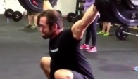 Rich Froning hits kg at CrossFit Ireland