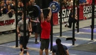 Rich Froning shoulder to overhead lbs