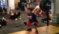 Rob Forte kg Snatch Double