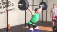 Rob Forte kg Snatch Triple Workout