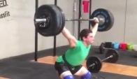 Rob Forte kg Snatch triple exercise