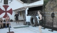 Samantha Briggs does double unders in minutes