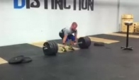 Scott Panchik hang power cleaning